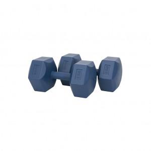 Scucs Plastik Köşeli Dambıl Set 2 kg x 2