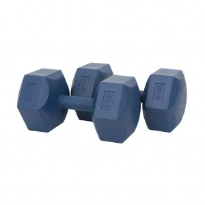 Scucs Plastik Köşeli Dambıl Set 8 kg x 2