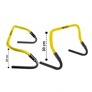 Scucs Zıplama Engeli 20 - 30 cm Arası Ayarlanabilir 5 li Çantalı Set