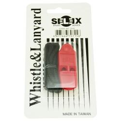 Selex D02 Hakem Düdüğü Kırmızı