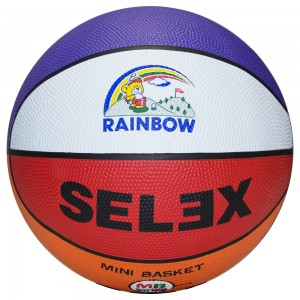 Selex Rainbow Basketbol Topu No 5
