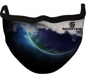 Özel Tasarım Maske Karanlık Gezegen