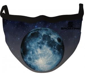 Özel Tasarım Maske Mavi Ay
