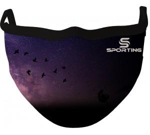 Özel Tasarım Maske Galaksi Gece