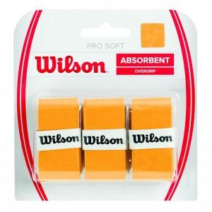 Wilson Pro Soft Overgrip 3 lü Turuncu Raket Grip WRZ4040GO