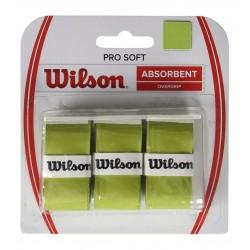 Wilson Pro Soft Overgrip 3 lü Yeşil Raket Grip WRZ4040LI