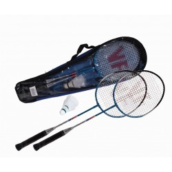 Vicfun XT1.6 Badminton Set (2 Raket  + 3 Top)
