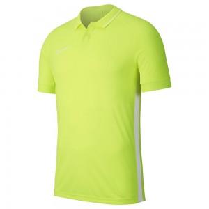 Nike Acdmy19 Polo Yaka Tişört Fosfor Yeşil